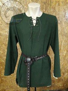 Bata Medieval - Verde Escuro