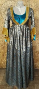 Vestido Medieval - Duplo - Século XIV