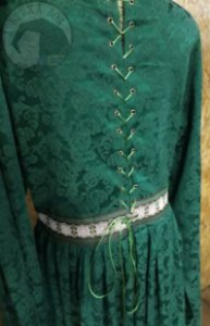 Vestido Renascentista - Verde