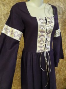 Vestido Renascentista - Roxo