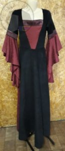 Vestido Sacerdotisa Vitoriano