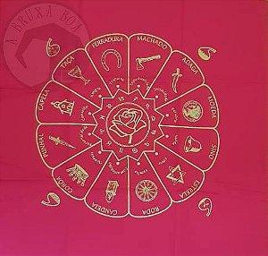 Toalha Cigana - Vermelha