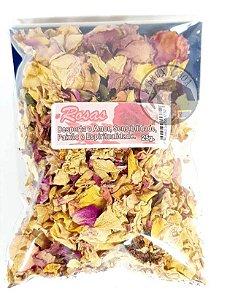 Pacote com Pétalas de Rosas - Banho do Amor
