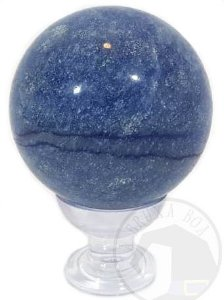 Esfera - Quartzo Azul