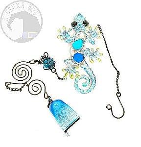 Móbile - Sino com Salamandra - Azul