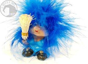 Mini Soprinho - Cabelo Azul