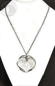 Amuleto - Coração em Cristal