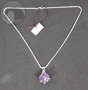Amuleto - Merkaba em Ametista