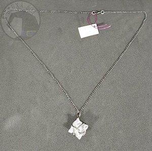 Amuleto - Merkaba em Cristal