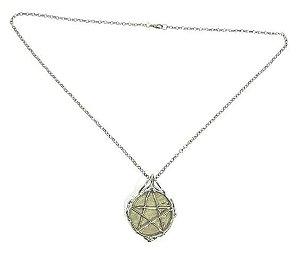 Amuleto - Pirita e Pentagrama