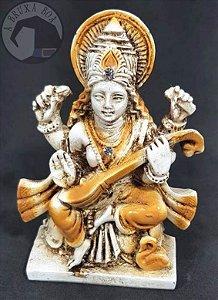 Deusa Saraswati - Conhecimento e Artes