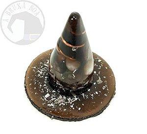 Mini Chapéu de Bruxa em Orgonite
