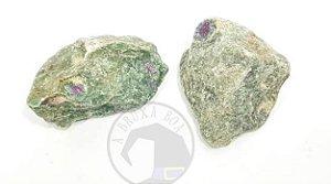 Fuchsita com Rubi - Bruta (Unidade)