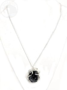 Amuleto - Obsidiana Floco de Neve