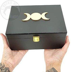 Baú da Bruxa - Triluna - Caixa em MDF pequena