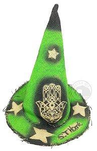 Chapéu de São Thomé para Magos e Bruxas - Verde
