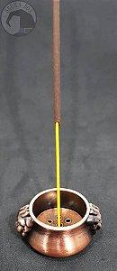Mini Incensário Caldeirão - Cobre