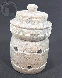 Rechaud Pedra Sabão - Modelo Panelinha