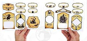 Etiquetas Adesivas - Rótulos para Garrafas e Potes