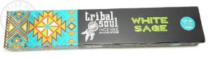 Incenso Tribal Soul - White Sage (Sálvia Branca)