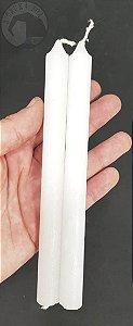 Vela Palito Branca - Pacote com 2 velas