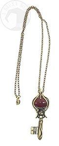 Amuleto Chave de Hécate - Ágata de Fogo