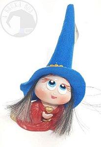 Bruxinha Mary do Amor - Chapéu Azul