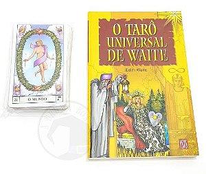 Kit Livro O Tarô Universal de Waite + Tarô Universal de Waite (Usado)