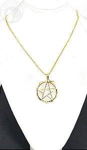 Amuleto - Pentagrama e Cristal
