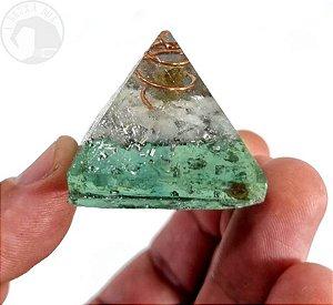 Mini Pirâmide - Orgonite