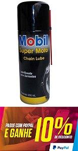 Lubrificante Spray Para Corrente Mobil Super Moto 200 Ml