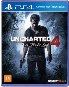 Uncharted 4: A Thiefs End - PS4