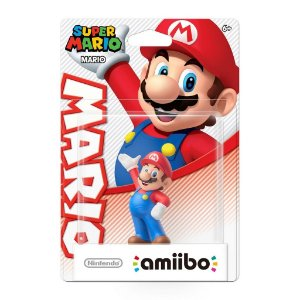 Boneco Amiibo Mario (Série Super Mario) - WiiU