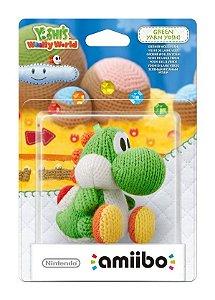 Boneco Amiibo Green Yarn Yoshi - Wii U