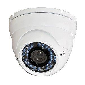 Câmera Dome AHD-M Varifocal Infravermelho Sony Exmor 1.3 Megapixel HD 960p 35 Metros 2.8-12mm - JTC-3406
