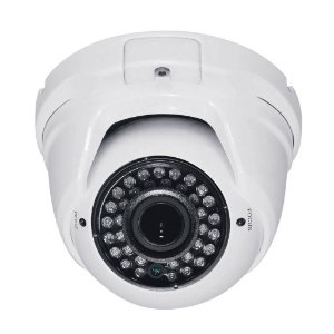 Câmera Dome IP Varifocal Infravermelho 1.3 Megapixel HD 960p Onvif 35 Metros 2.8-12mm - JTC-IP210