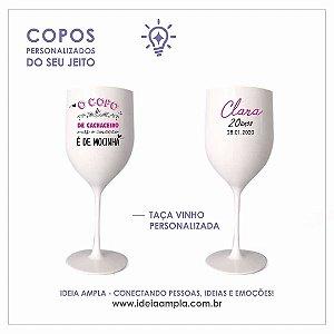 Taça Vinho Personalizada | 4x4