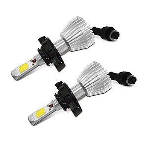 Lâmpada Super Led H16 Branca - Par (2 unidades)