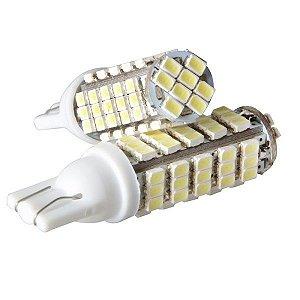 Lâmpada T10 68 LED's (Pingo - W5W) - Par (2 unidades)