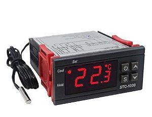 Termostato Digital Controlador De Temperatura Stc-1000