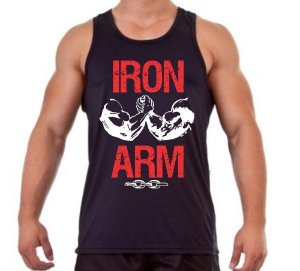 REGATA MASCULINA IRON ARM
