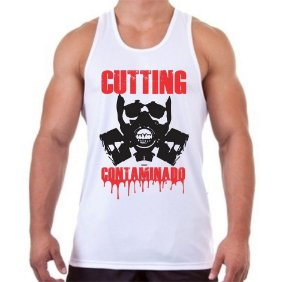 REGATA MASCULINA CUTTING CONTAMINADO