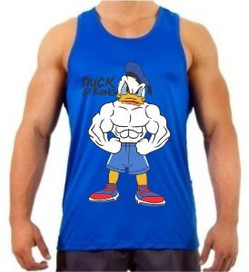 REGATA MASCULINA PATO DONALD STRONG