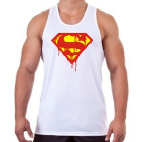 REGATA MASCULINA SUPERMAN S DEATH