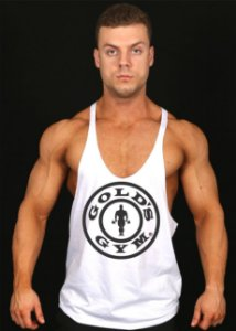 REGATA SUPER CAVADA GOLDS GYM LOGO