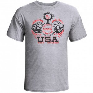 CAMISETA USA BODYBUILDING