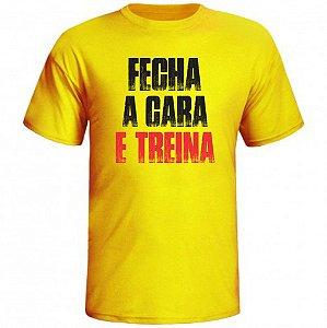 CAMISETA FECHA A CARA E TREINA