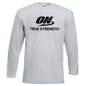CAMISETA MANGA LONGA ON OPTIMUM NUTRITION