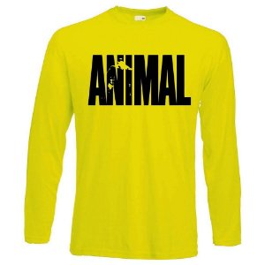 CAMISETA MANGA LONGA ANIMAL