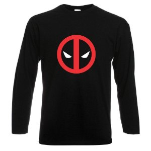 CAMISETA MANGA LONGA DEADPOOL 1